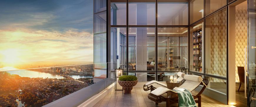 Dự án căn hộ Millennium: penthouse đạt chuẩn