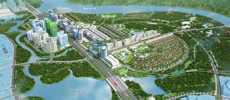 Dự án Khu đô thị Sala tận hưởng môi trường trong lành gần gũi thiên nhiên
