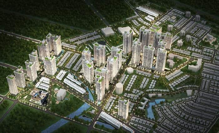 Dự án Raemian Galaxy nằm ngay trung tâm Sài Gòn tổng vốn đầu tư lớn