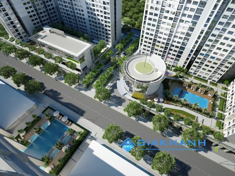 New City Bình Khánh hạ tẩng đồng bộ sự khác biệt tiện ích tập trung
