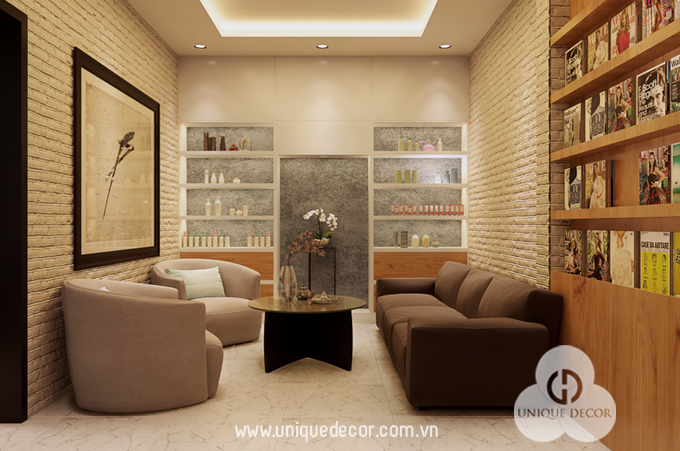 Thiết kế nội thất Spa chuyên nghiệp tại TP.HCM