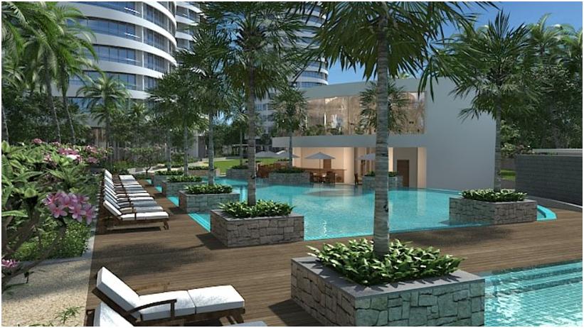 City Garden khu căn hộ đảm bảo riêng biệt gần bên sông