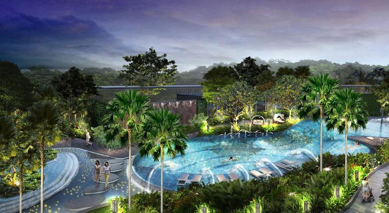 Dự án Palm Garden Keppel Land triển khai xây dựng
