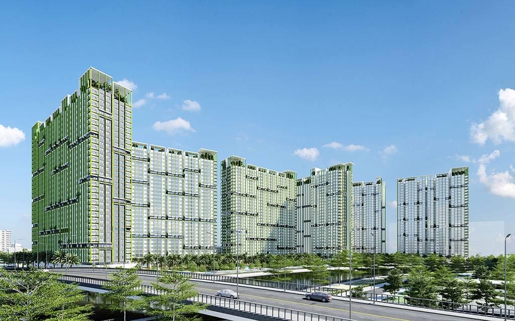 Concept thiết kế căn hộ Gem Riverside Quận 2