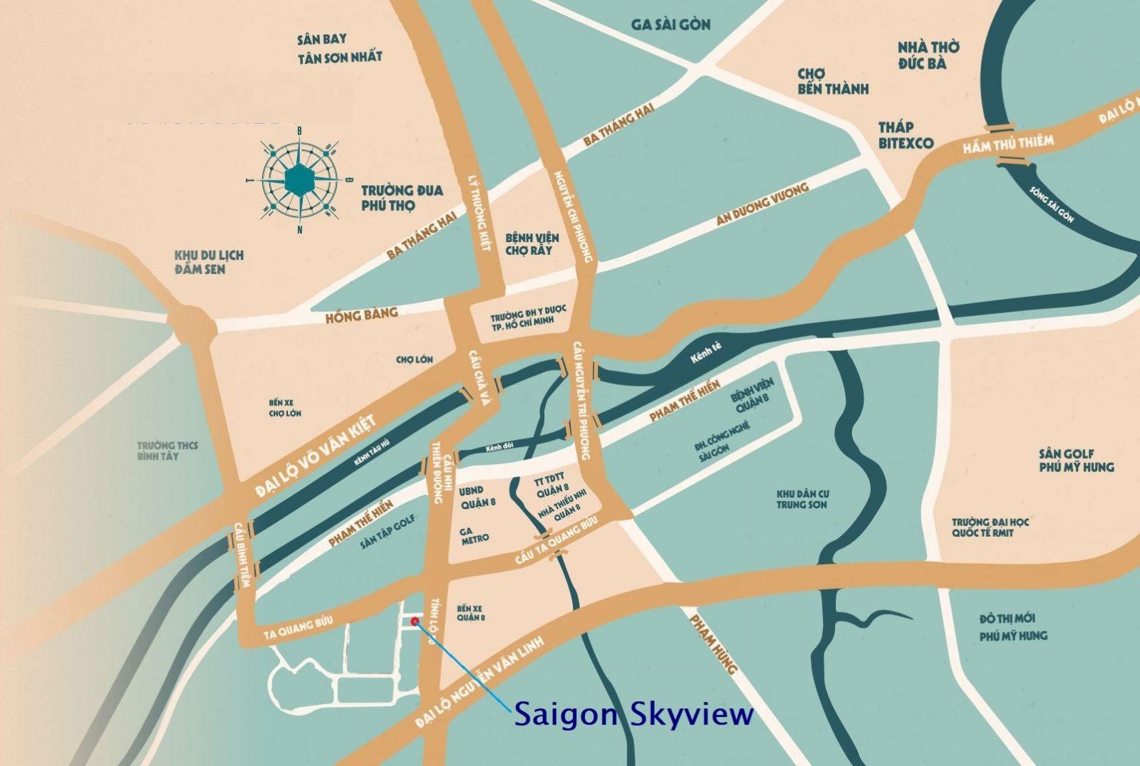 Khách hàng nước ngoài thuận lợi khi mua dự án Saigon Skyview Phường 14