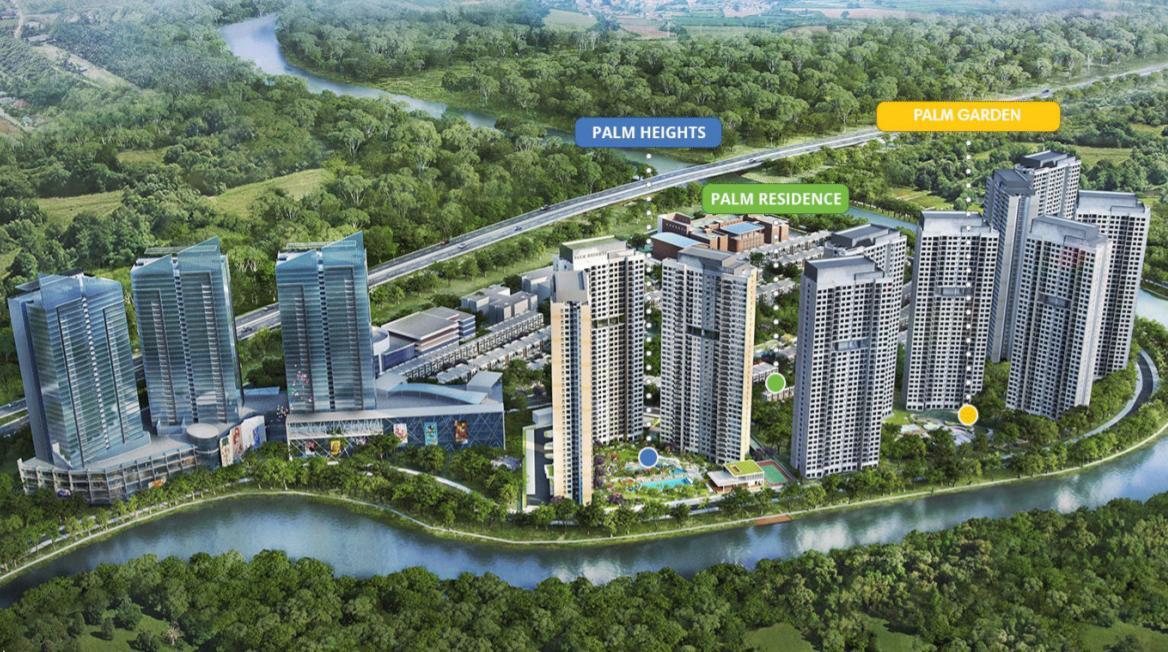 Sơ lược giá bán căn hộ dự án Palm Garden Keppel Land
