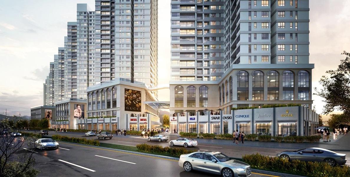 The Sun Avenue dự án chung cư đi lại an toàn chuẩn mực mới