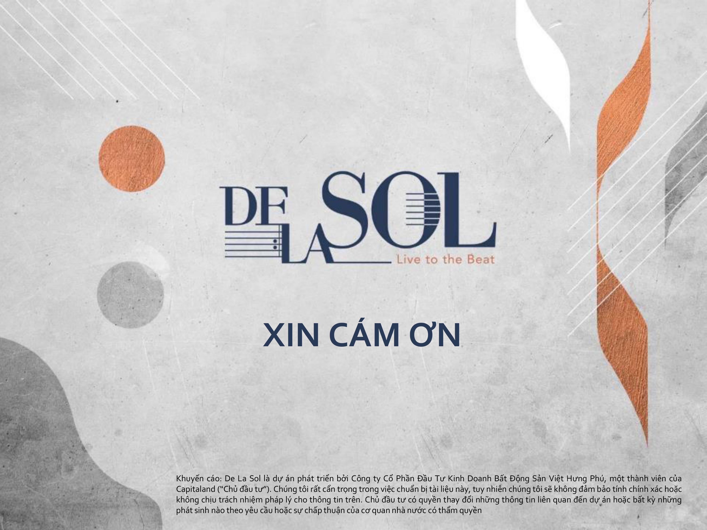 Thông tin mới nhất về tiến độ xây dựng dự án De La Sol quận 4