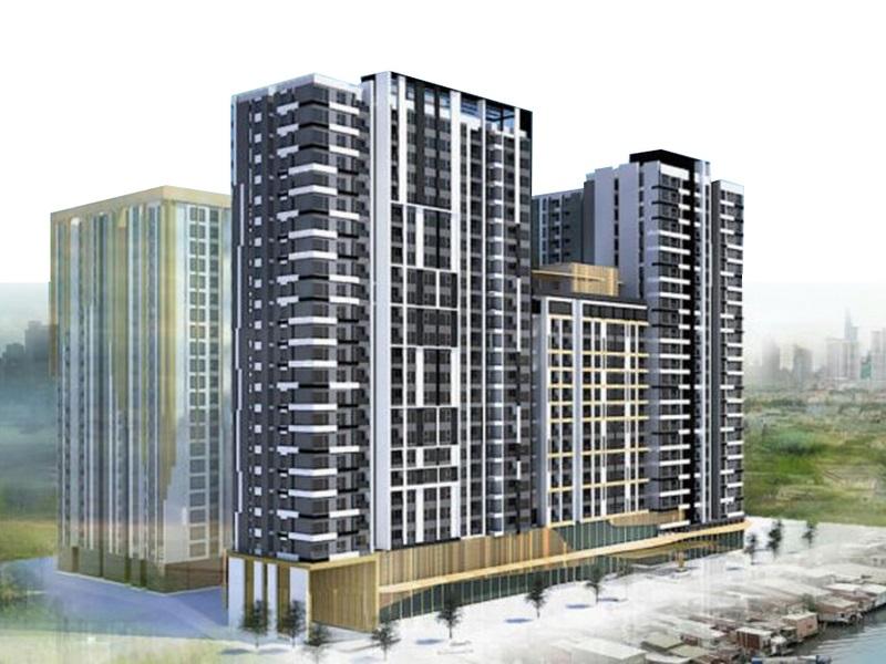 Dự án căn hộ De La Sol lựa chọn sáng giá sát sông bảo vệ chuyên nghiệp
