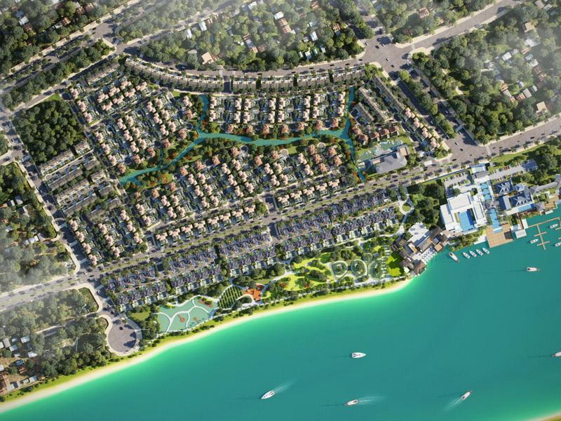 Biệt thự SwanBay mảng xanh đắt giá sống phong cách với thiết kế tối ưu