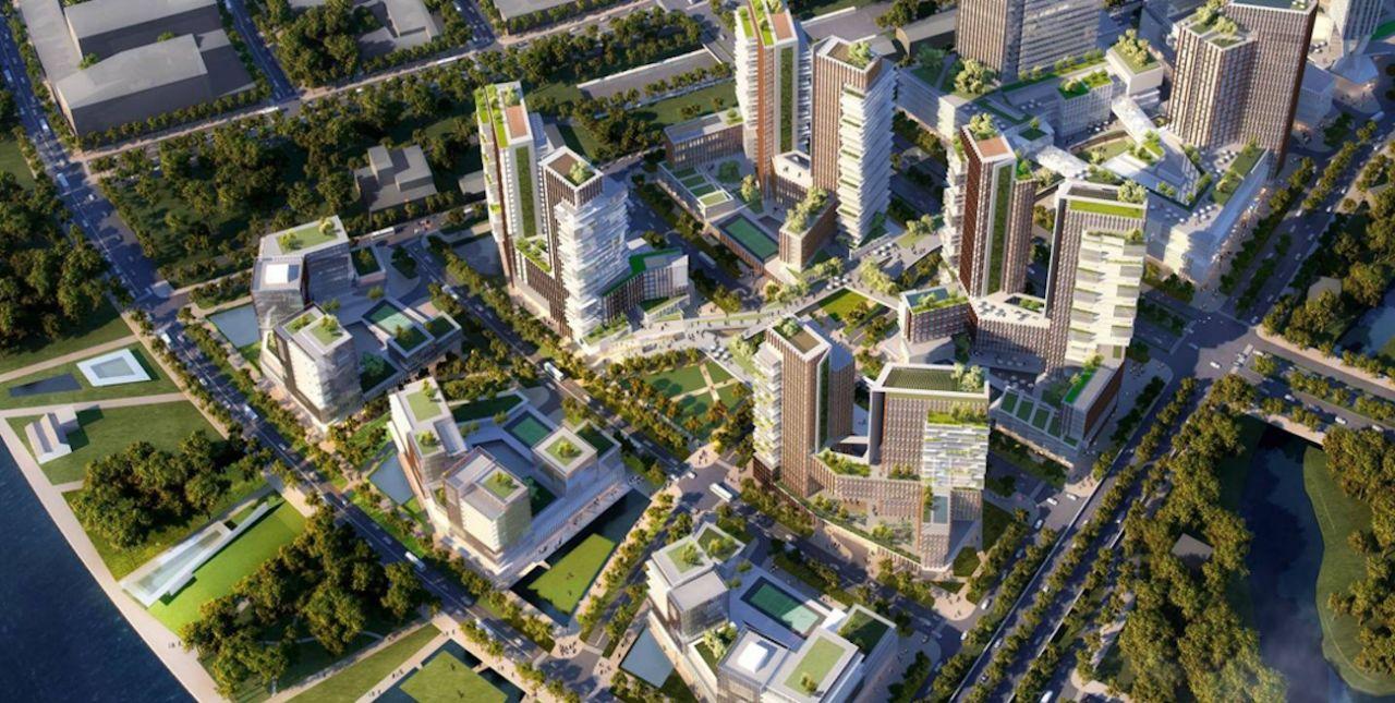 Vị trí của dự án Empire City trong Khu dân cư mới Thủ Thiêm