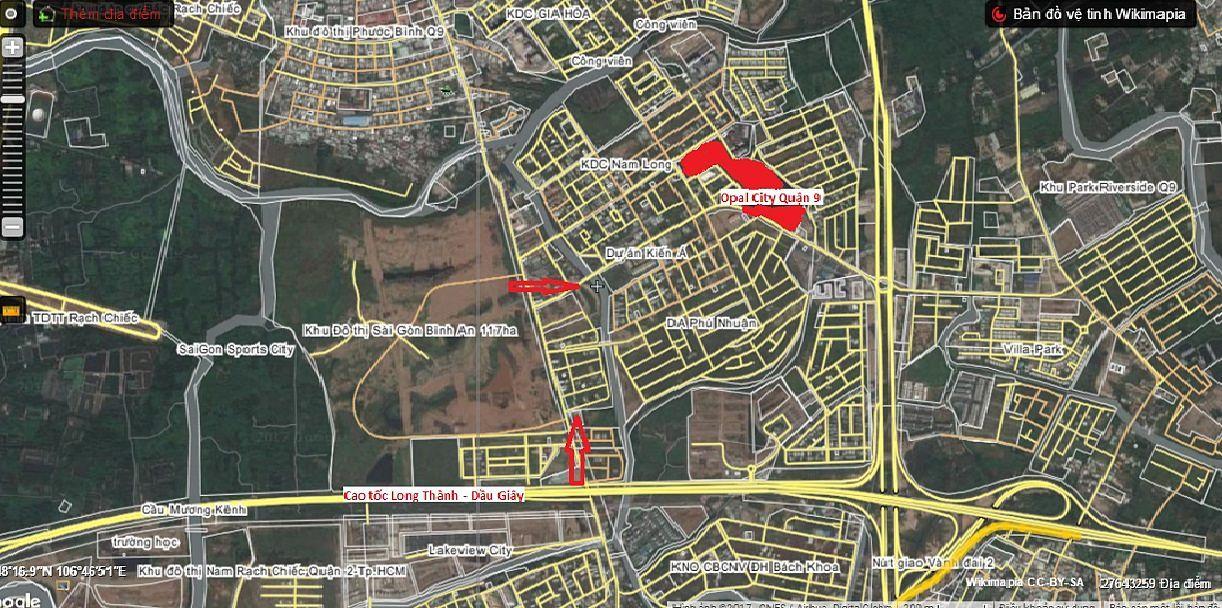 Opal City Đất Xanh – căn hộ xanh giữa lòng quận 9