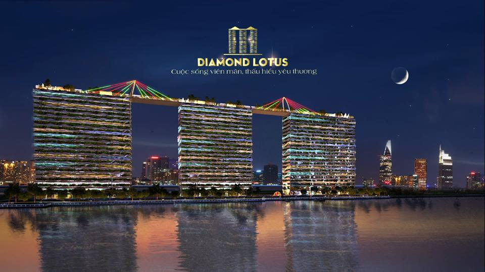 phoi canh rome diamond lotus