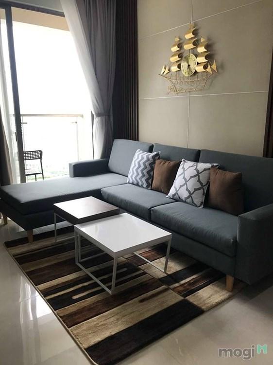 Cho thuê căn hộ Masteri Millennium, 2 phòng ngủ, 74m2, đầy đủ nội thất