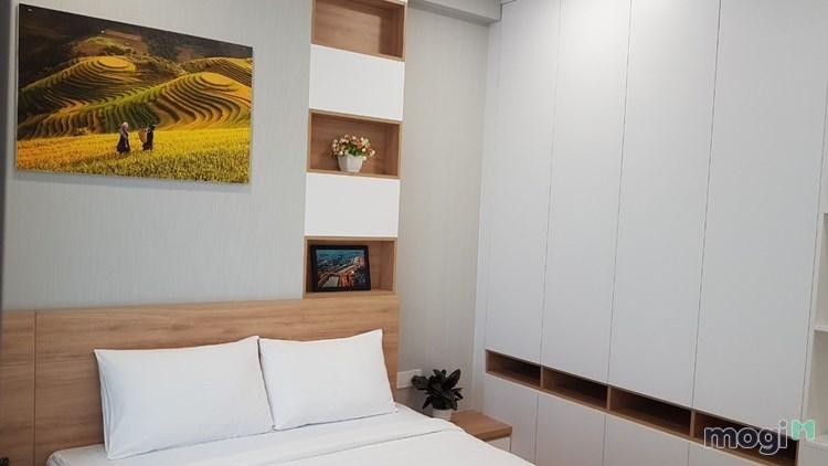 Cho thuê căn hộ Millenium 2 phòng, 75m2, nhà decor đẹp như hình