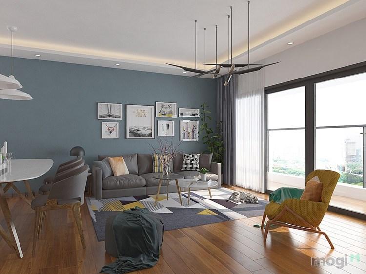 Cho thuê căn hộ Cao Cấp Millennium_Q4, 3PN, 2WC full đồ 30 triệu