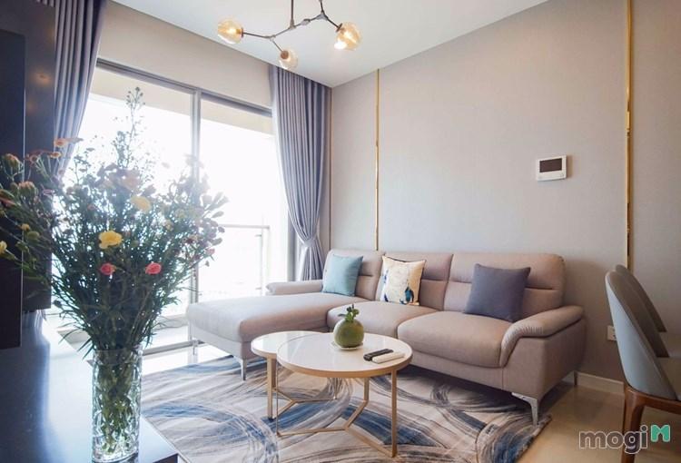 Cần cho thuê căn hộ Masteri Millennium 2PN đầy đủ nội thất 25tr/th