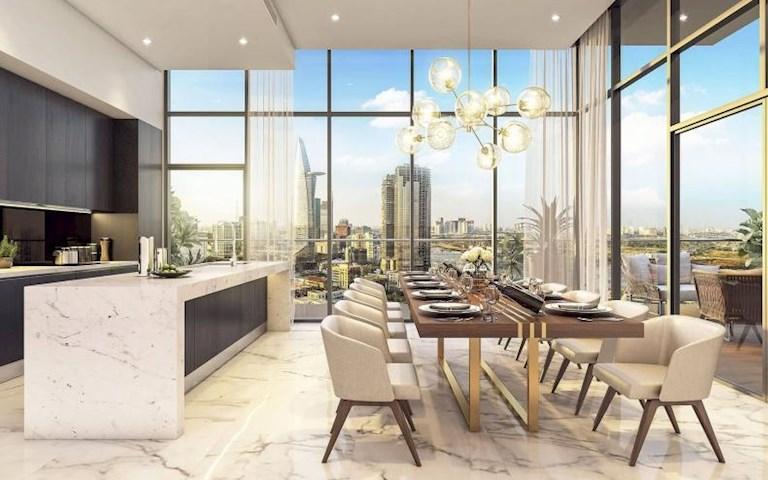 Bán căn hộ Millennium Quận 4, căn số 1 lầu cao, view hồ bơi, giá 4,2 tỷ