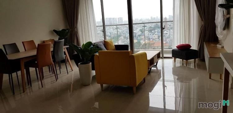 Cho thuê căn hộ Millennium, Quận 4, 107m2, 3PN