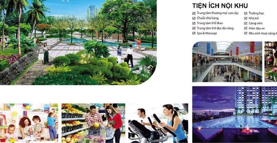 Tiện ích hiện đại tại dự án Raemian City