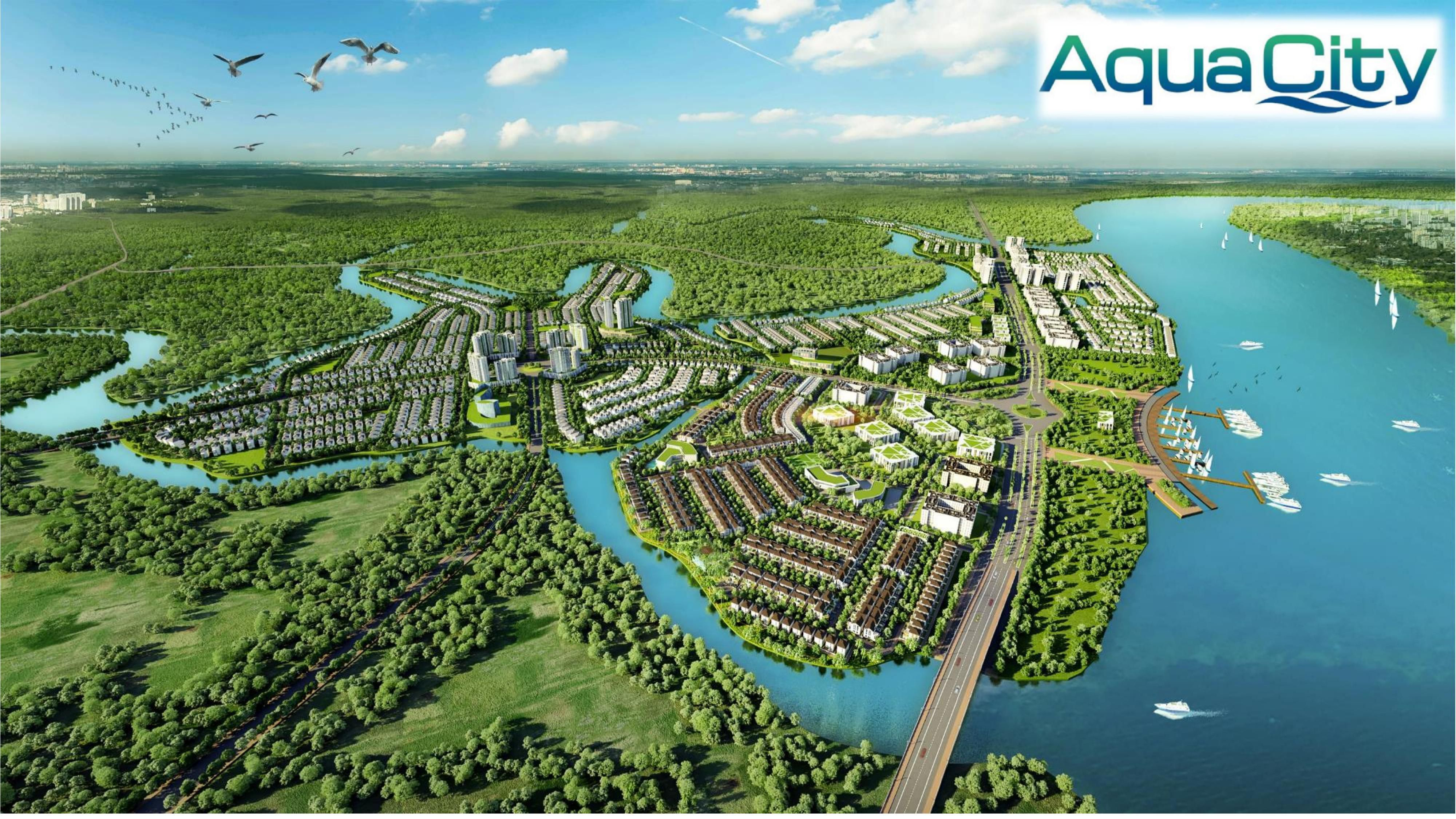 Chủ đầu tư nhà phố Aqua City là ai?