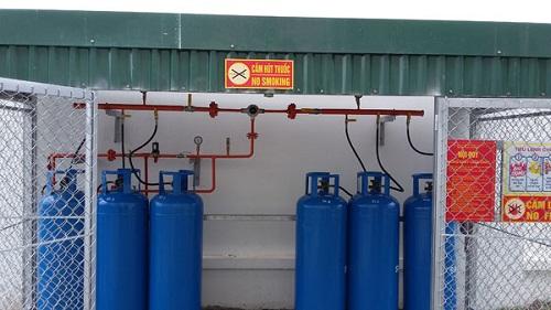 Điều cần quan tâm khi sử dụng hệ thống gas công nghiệp