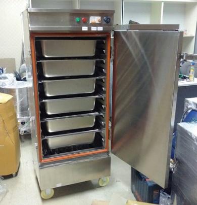Tìm hiểu về tủ nấu cơm bằng gas công nghiệp