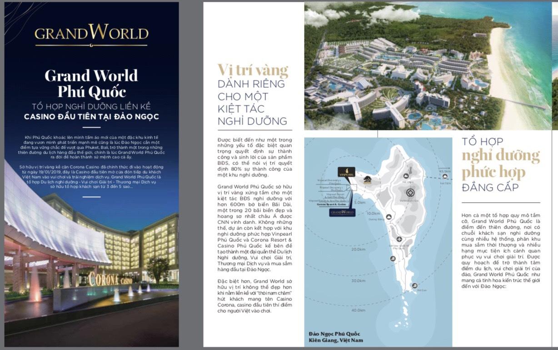Điểm nhấn dự án Vinpearl Grand World Phú Quốc