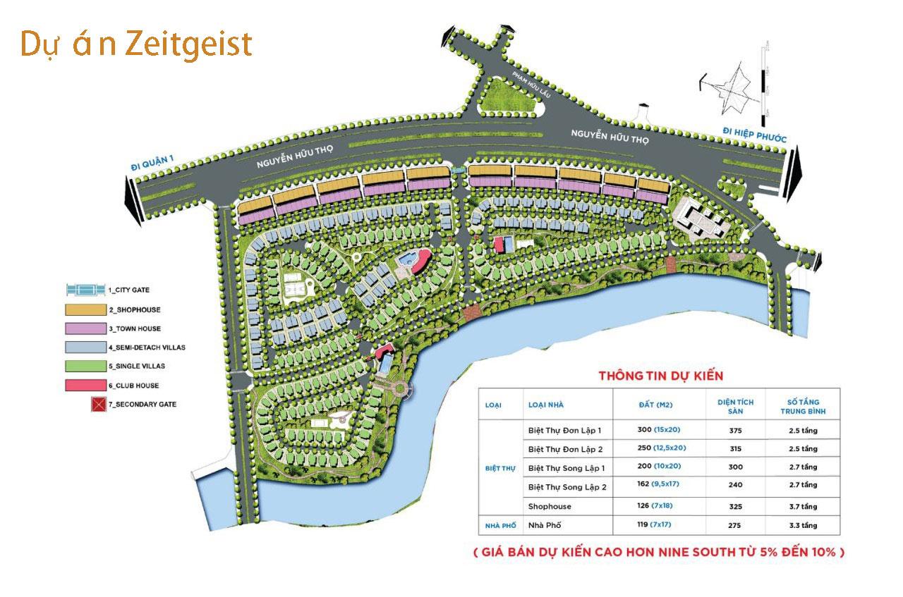 Thiết kế của căn hộ ZeitGeist có gì nổi bật?