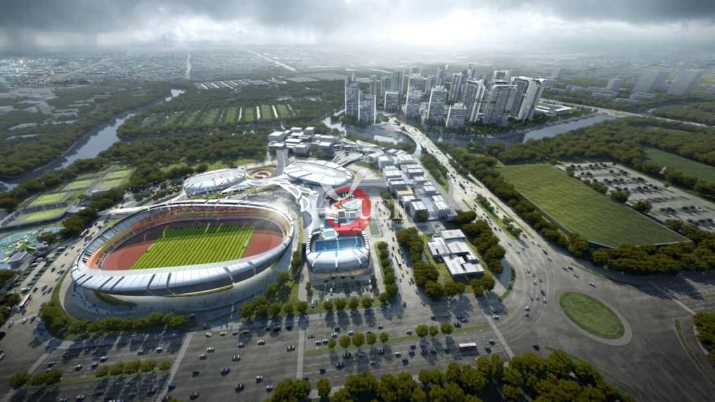 Chuỗi tiện ích nội khu của dự án Saigon Sports City