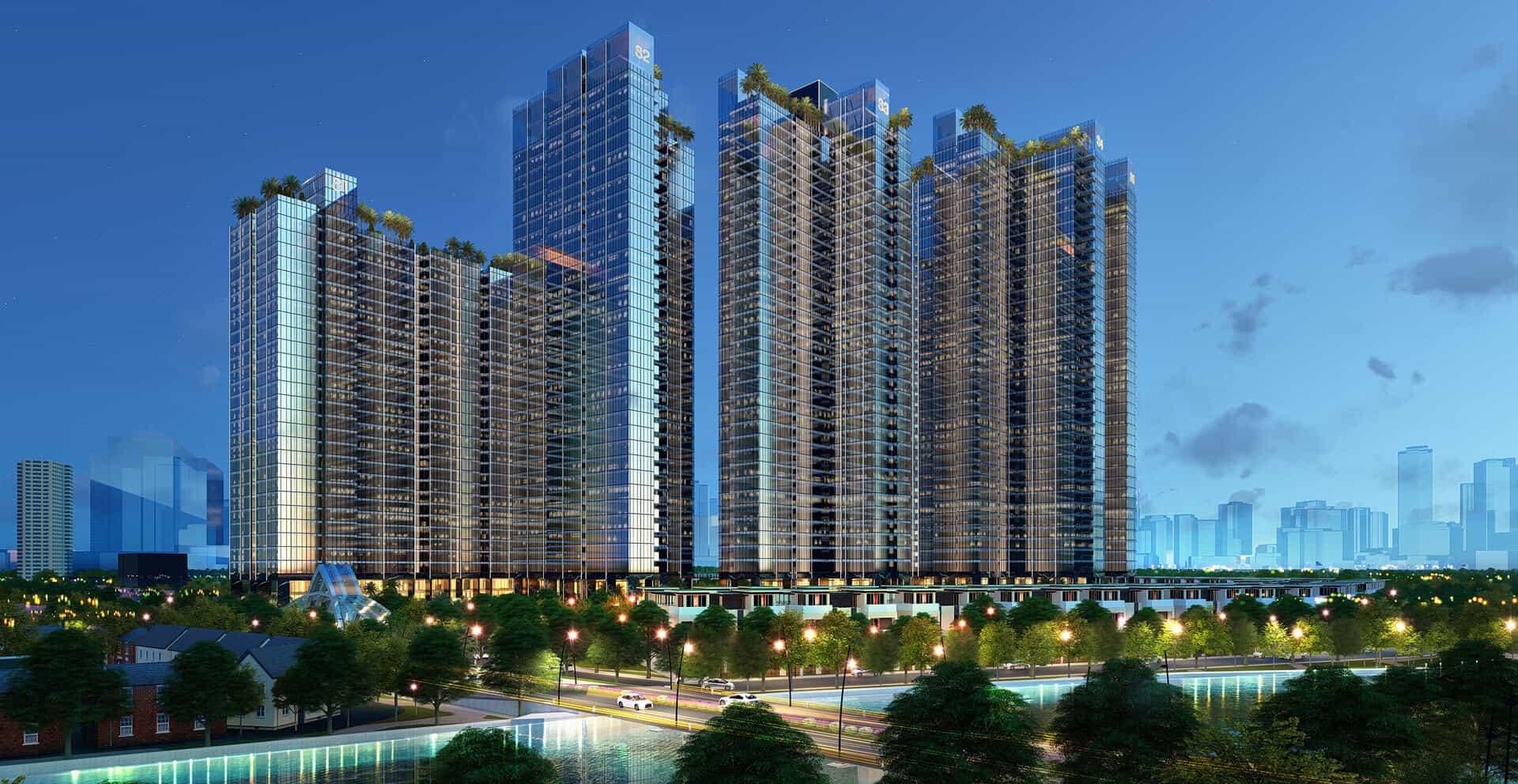 Ứng dụng công nghệ 4.0 vào Sunshine City Sài Gòn